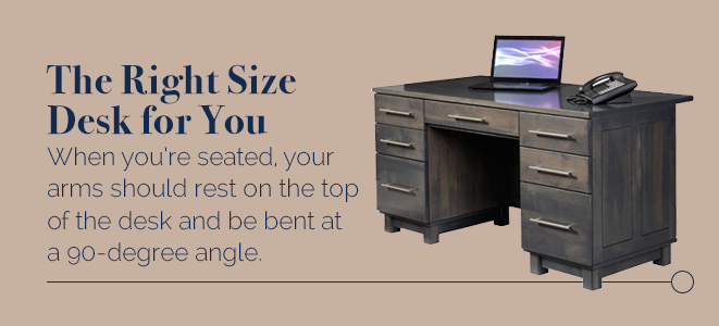 The Right Size Desk for You