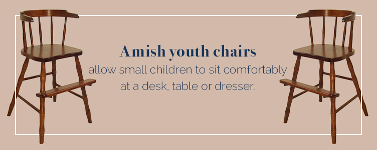 Amish Youth Chairs