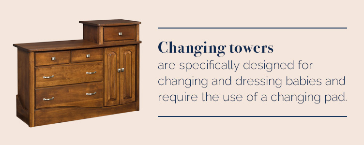 Changing Tower Dressers