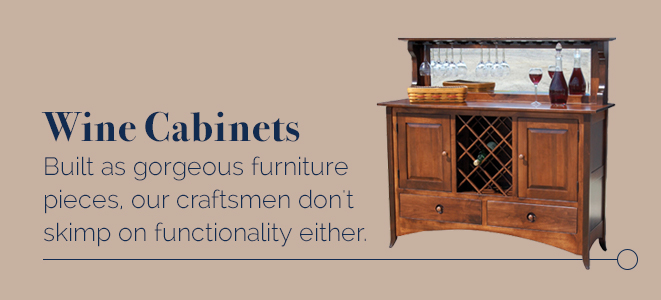 Wine Cabinets - Amish Outlet Store