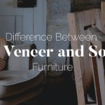 Difference between laminate, veneer, and solid wood furniture