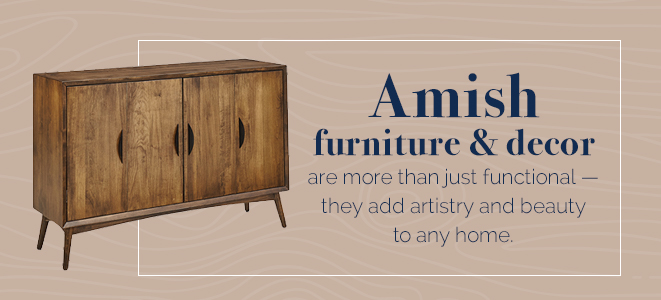 Amish furniture and decor - Amish Outlet Store