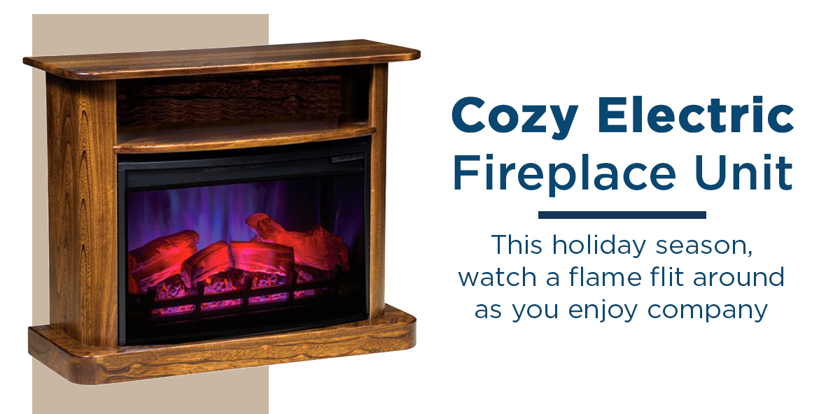 Cozy Electric Fireplace Unit