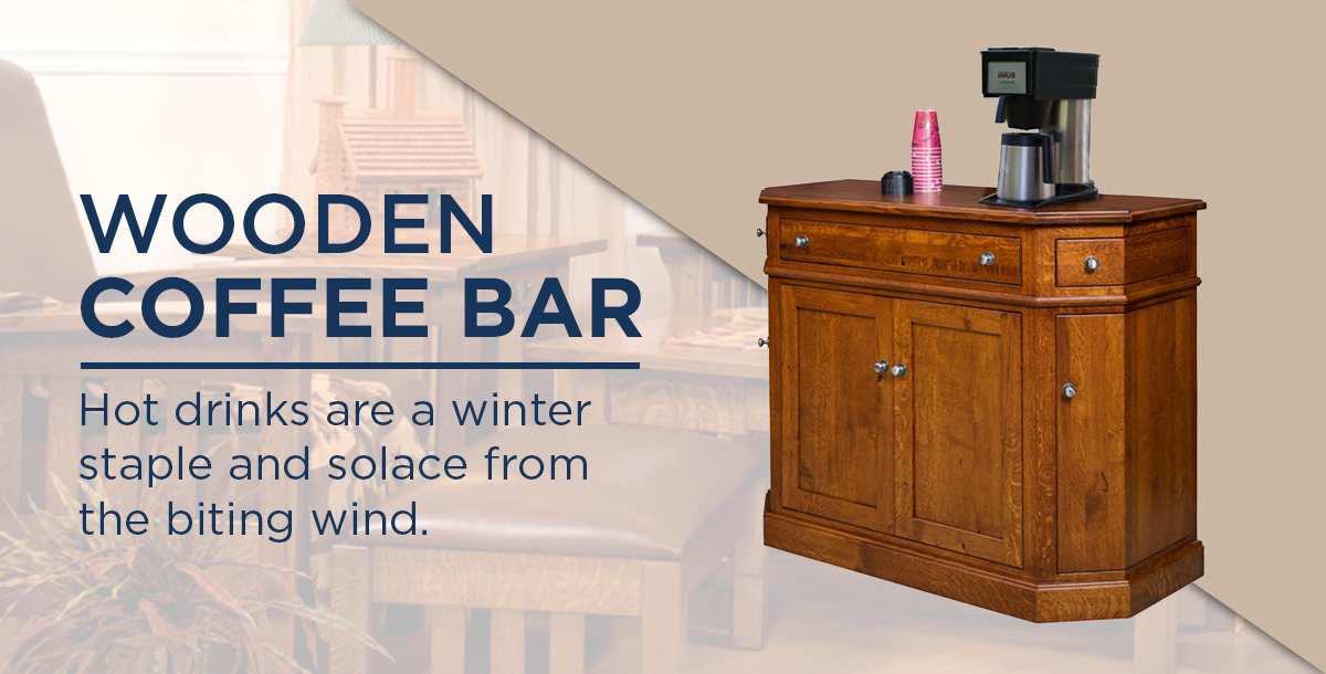 Wooden Coffee Bar