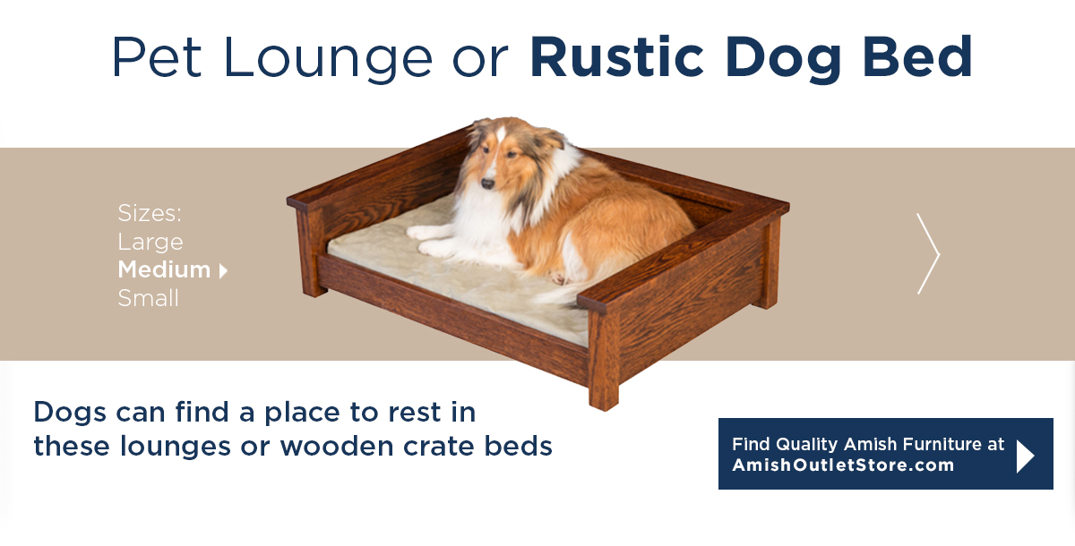 Pet Lounge or Rustic Dog Bed